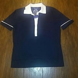 Faconnable navy blue top
