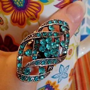 Jewelry - 💎Aqua Statement gemstone ring ❤