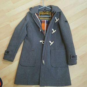 superdry paddington duffle coat - A Club at the Merchants Hall