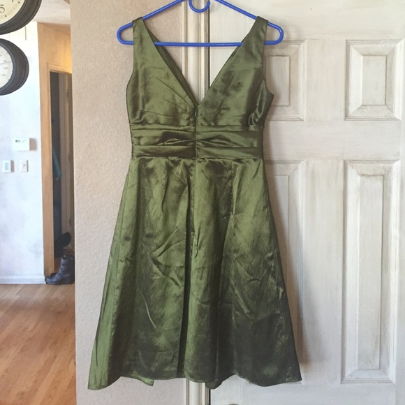 91 off anthropologie dresses skirts wtoo watters style 478 green bridesmaid dress 4 from. Black Bedroom Furniture Sets. Home Design Ideas