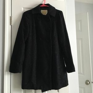 Light weight black sparkle jacket from Wet Seal