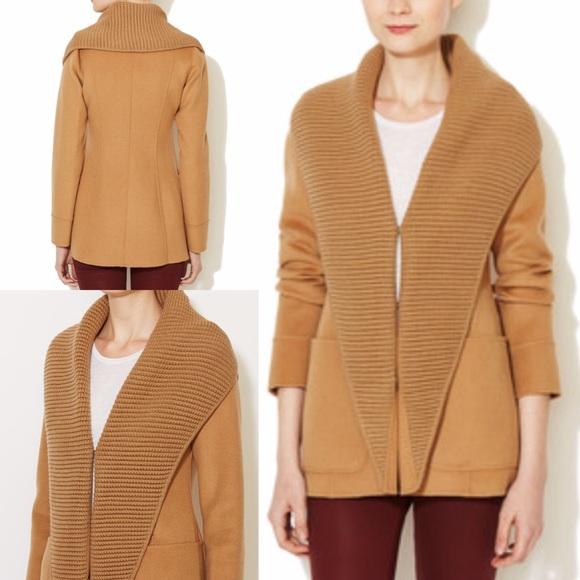 6c15fa0f Mackage Jackets & Coats | Bessie Wool Knit Lapel Jacket | Poshmark