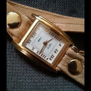 La mer wrap around watch