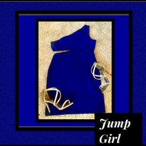 Jump Girl Dresses & Skirts - 🦋Royal Blue💙Cutout Body-Con Dress/by Jump Girl
