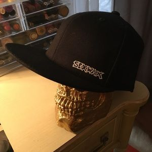 Sexwax Accessories - Sexwax black fitted hat 7 1 4 - 7 5 8 ea2ac3014ce