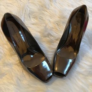 Marc Fisher Shoes - MARK FISHER SILVER HIGH HEELS