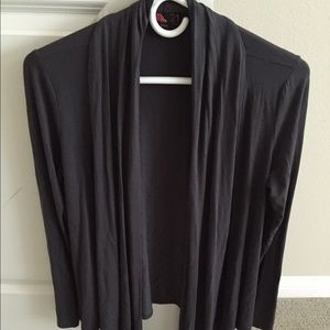 Forever 21 dark gray cardigan