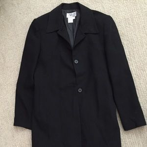 Black long blazer/coat