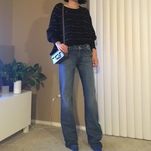 NWT 7 for all mankind boot cut jeans