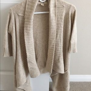 Tan/cream cardigan
