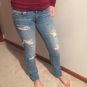American Eagle Outfitters Denim - American Eagle distressed skinny jeans