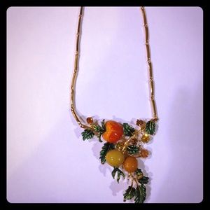 Vintage fruit or my loom necklace