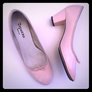 Repetto Shoes - Repetto ballet pink bow pumps