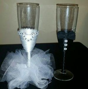 Other - Custom wine glasses