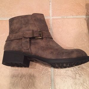 Nicole by Nicole Miller Shoes - Grayish brown boots