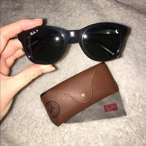 Authentic Black Ray Bans