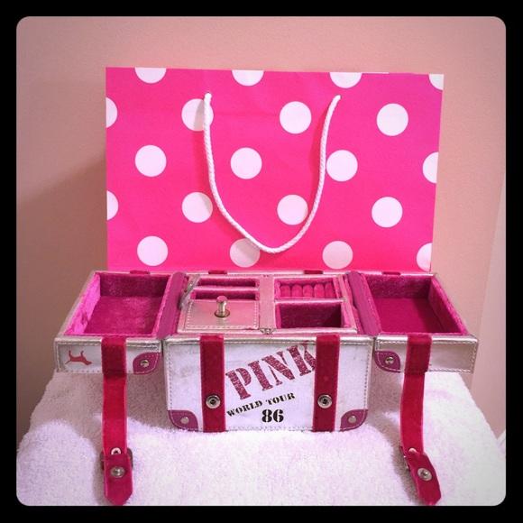 2470b3b2e1c20 RARE Victoria's Secret PINK Jewelry Box
