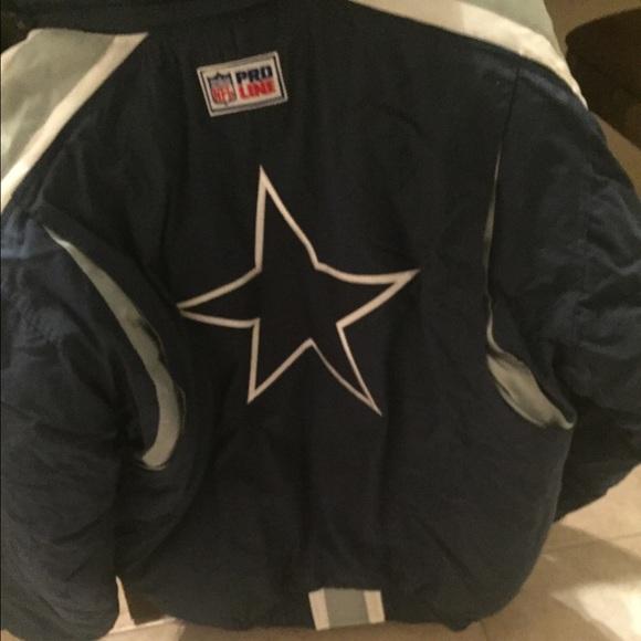save off 0dd2d e2f09 Dallas Cowboys NFL proline starter jacket