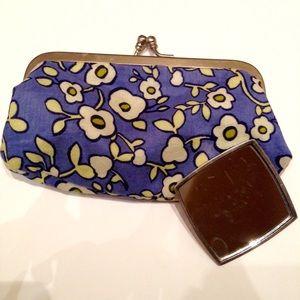 Coin / makeup purse and mirror