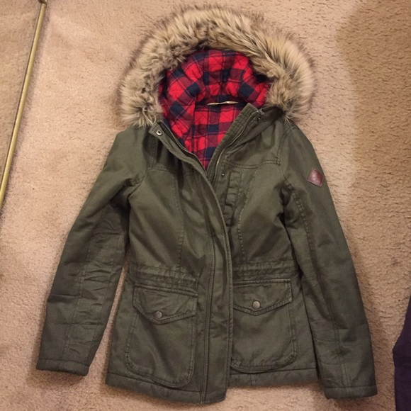 Hollister parka price
