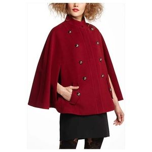 ❤️Take 15% Off❤️ Anthropologie Maisie Cape