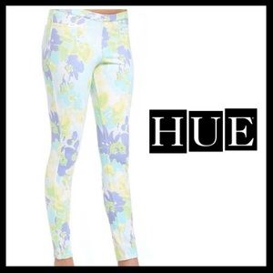 HUE Pants - HUE Watercolor Leggings. NWT