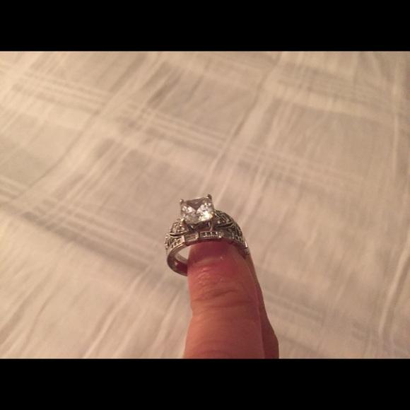 47 tacori jewelry wedding ring set sterling silver