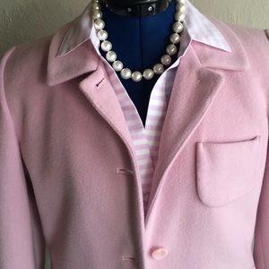 Jackets & Blazers - Pretty in pink wool blend blazer