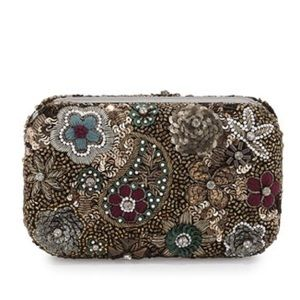 Alice + Olivia Handbags - Alice+Olivia Hard-shell Multi color Clutch Bag NWT