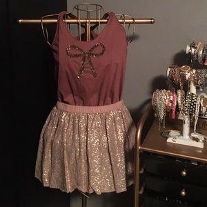 aerie Dresses & Skirts - Aerie Sequin Skirt