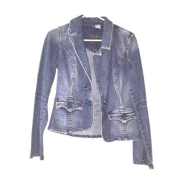 94% off Silver Jeans Jackets & Blazers - Beautiful Silver brand ...