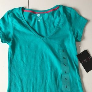 Energie Tops - 🆕NWT Teal V-Neck Tee