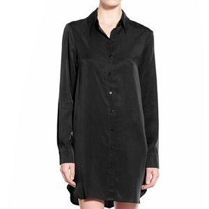 WAYF Button Front Shirt Dress