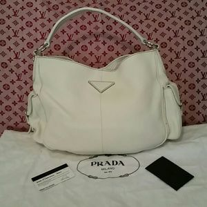 prada vitello drive bag