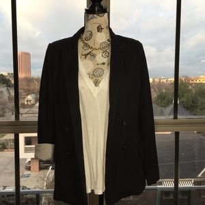 Anthropologie Cartonnier Cotton Blazer