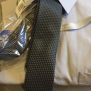 Men's imported designer tie Italian Marco launente