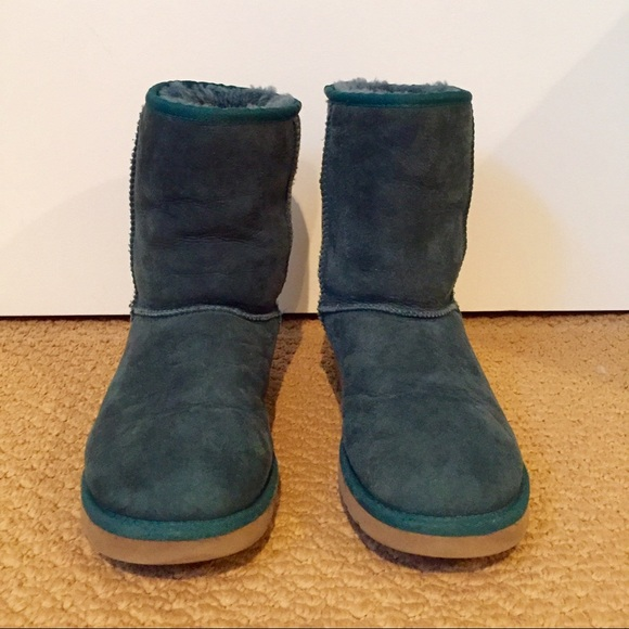 57 Off Ugg Shoes Teal Ugg Classic Short Boots From