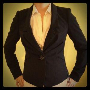 Betty jackson black waterfall jacket