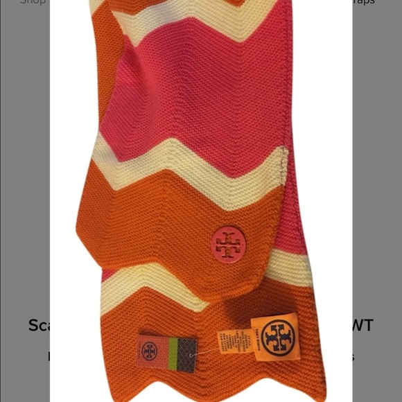 83bbaae6db8 Limited Edition Saks Fifth Avenue Tory Burch Scarf