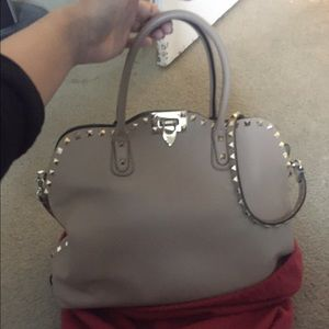 Authentic Valentino rockstud bag