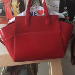 Alberta Di Canio Handbags - Great quality bag red color.