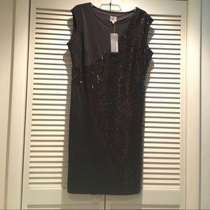 Queen Latifah Queen Collection Dresses & Skirts - RARE BLK Queen Latifah Collection SEQUIN LBD