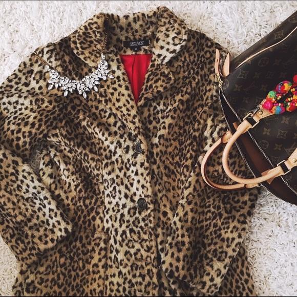 fefa5ad7da99 Karen Kane Jackets & Blazers - Karen Kane > Vintage Leopard Coat