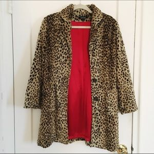 570135b68881 Karen Kane Jackets & Coats - Karen Kane > Vintage Leopard Coat