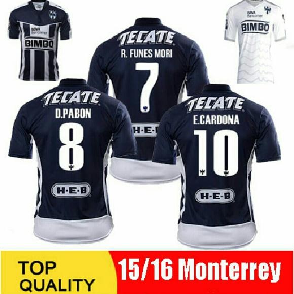 Tops - Monterey Soccer Jersey Funes Pabon Mexico Football