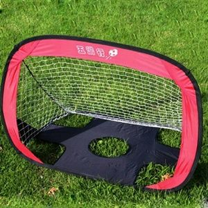 Football soccer goals pop up kids soccer tent play