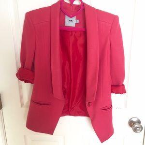Pink Asos blazer