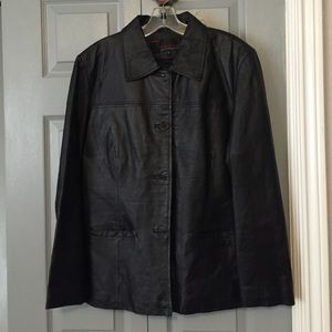 Phase 2 leather jacket