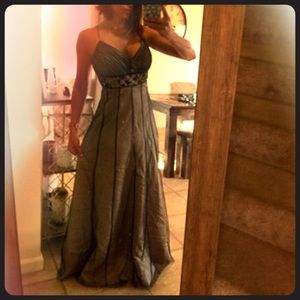 Other Dresses & Skirts - Olive Green beaded gown