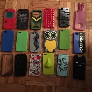 iPhone 4/4S cases, must sale all!!!!